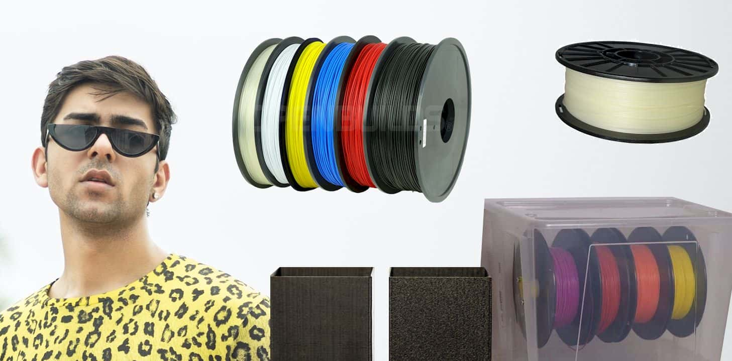 How to store PLA filament